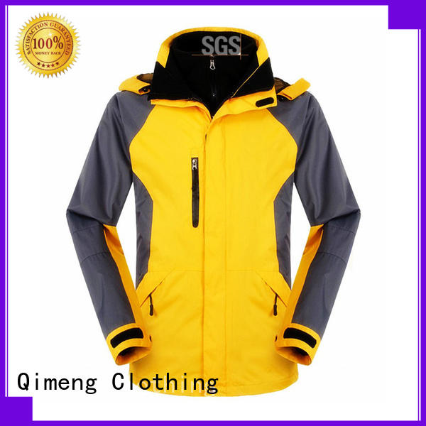 QiMeng arrival black soft shell jacket from China for daily wear