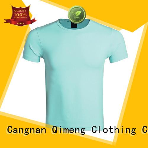 QiMeng plain white t-shirts in street