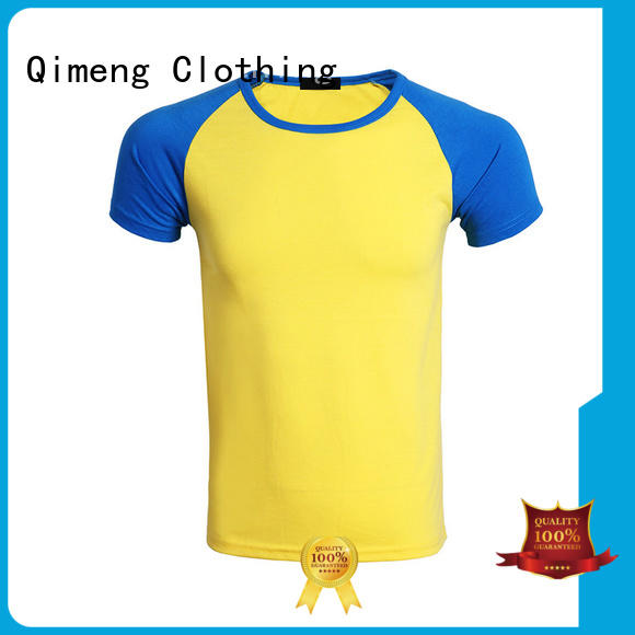 QiMeng sleeveless t-shirts for women for team-work