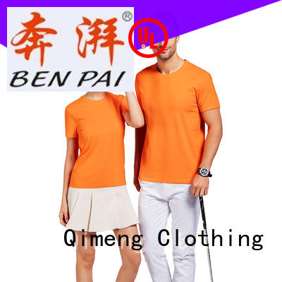 wholesale t shirt printing modern for outdoor activities QiMeng