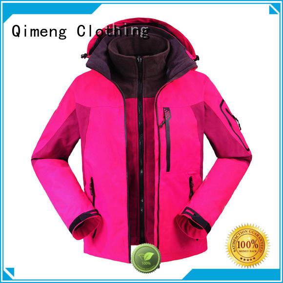 QiMeng waterproof hiking jacket manufacturer for outdoor activities