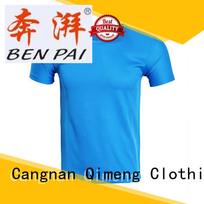 custom cotton t-shirt apparel for team-work QiMeng