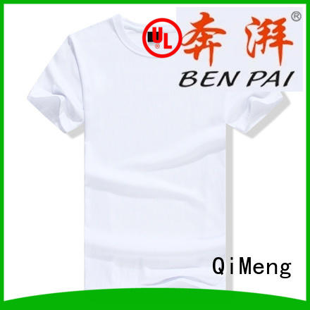 QiMeng new-selling plain t shirts for women collar for sports