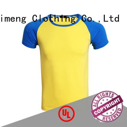 QiMeng apparel custom printed t shirts price for outdoor activities