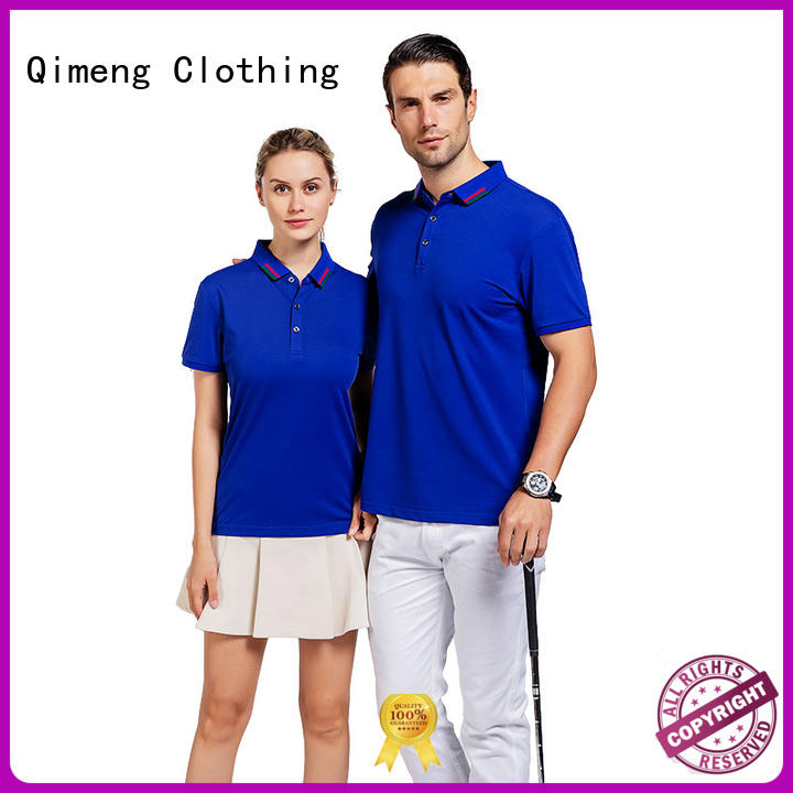 QiMeng first-rate polo design shirt vendor for business meetings