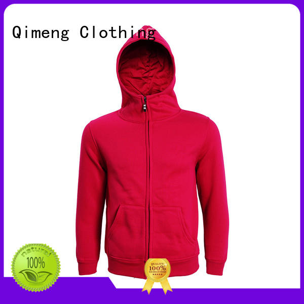 QiMeng bulk customised hoodies factory price