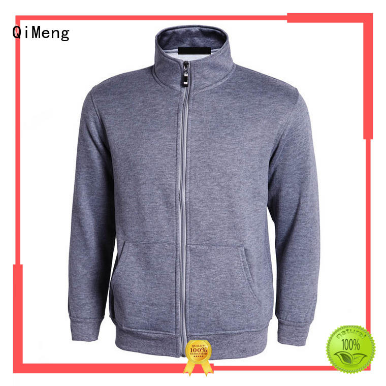 QiMeng printed street style hoodies factory price for daily wear