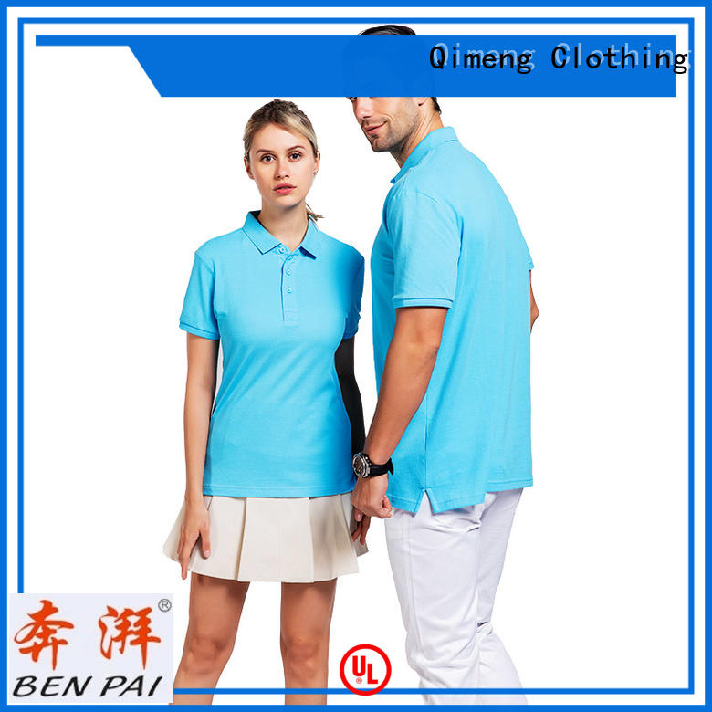 prices custom polyester polo shirts poloneck for team-work QiMeng