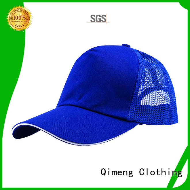 QiMeng modern sublimation cap popular in school
