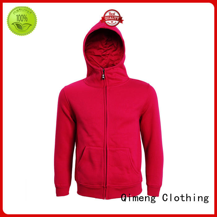 QiMeng plain hoodies from China for outdoor activities