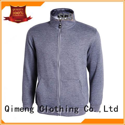 shirt zip hoodies men design for daily wear QiMeng
