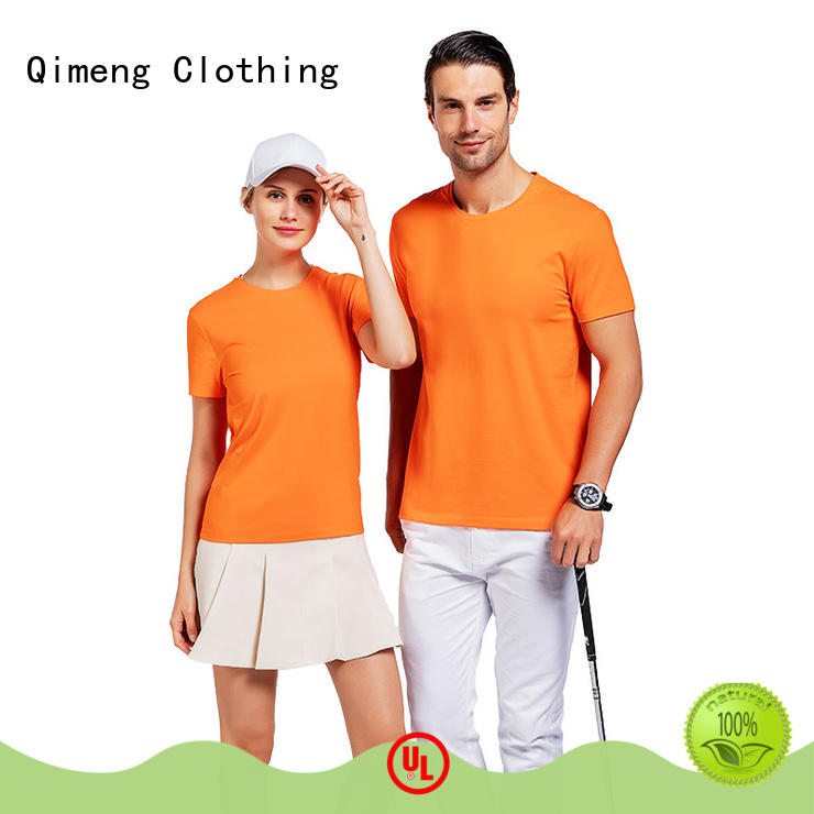 QiMeng promotional custom printed tshirts supplier