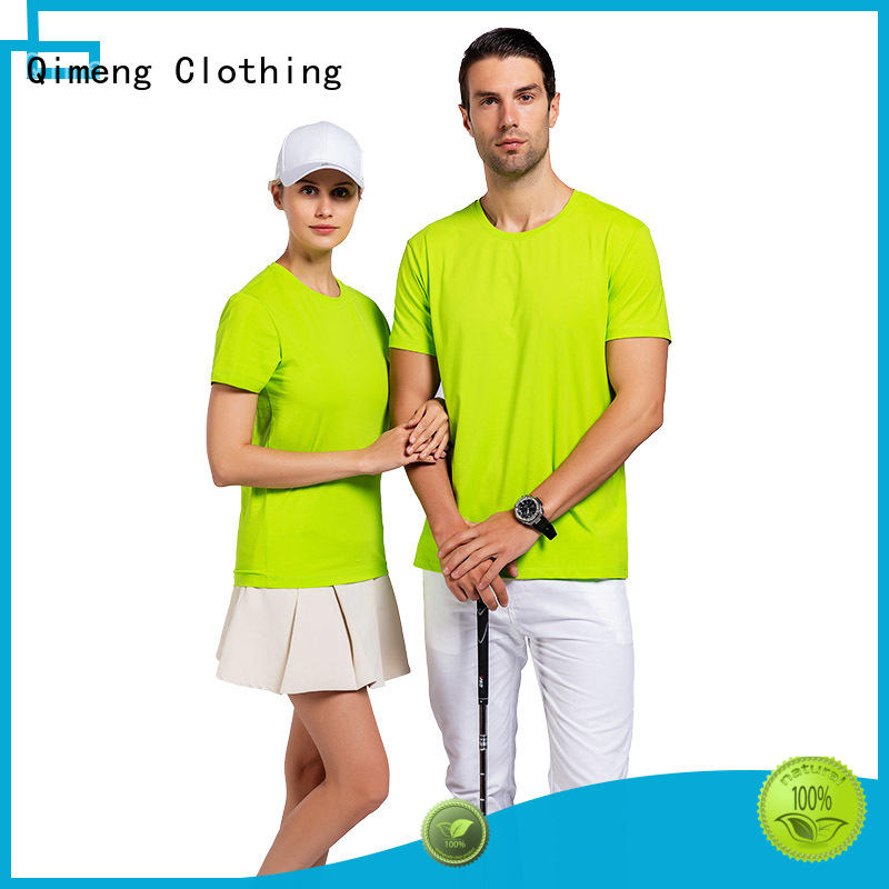 QiMeng new-coming wholesale t shirts wholesale in street