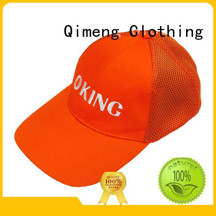 QiMeng quality cap custom from China for sports