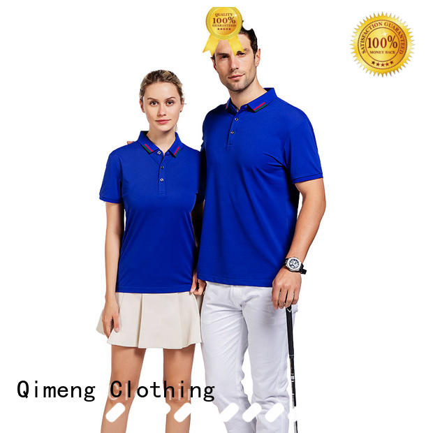 QiMeng inexpensive ladies polo t shirts vendor  for leisure travel