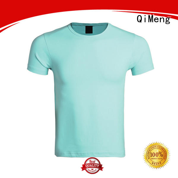 QiMeng organic t shirts free samples price