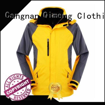 QiMeng OEM custom jacket arrival