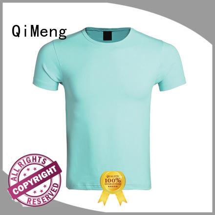 QiMeng modern plain t-shirts supplier
