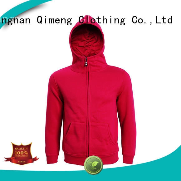 QiMeng shirt custom hoodies for sports