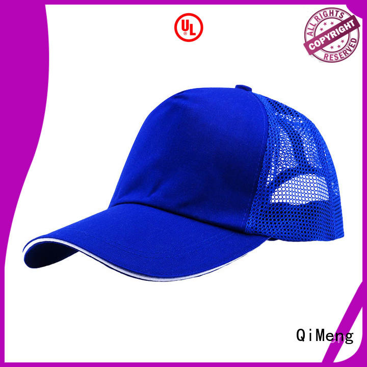 QiMeng trendy high quality cap from China for sports