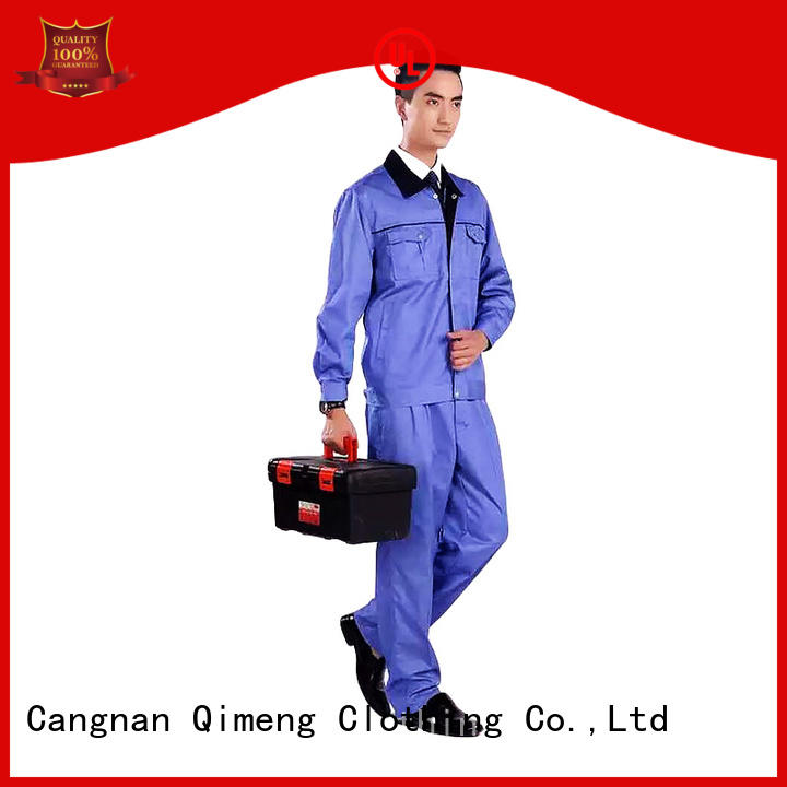 QiMeng hot-sale uniform polo shirt customization in school
