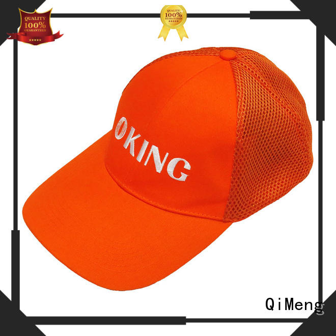 QiMeng trendy cap custom from China for campaigns