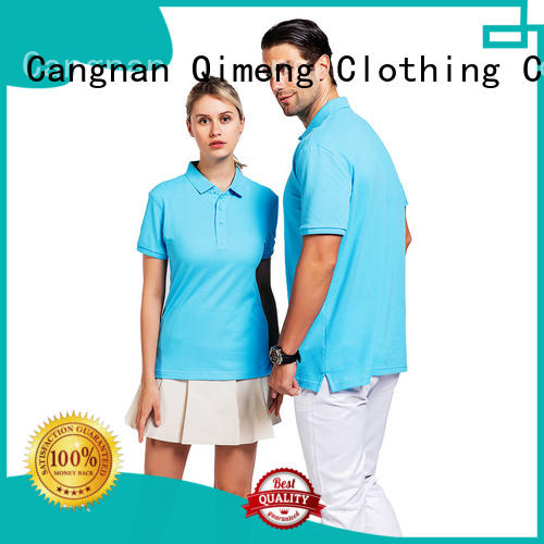 colors ladies polo shirts in different color  for business meetings QiMeng