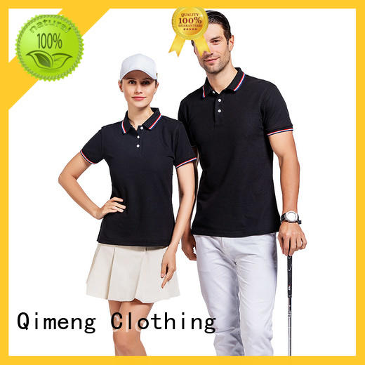 QiMeng from custom polyester polo shirts manufacturer for leisure travel