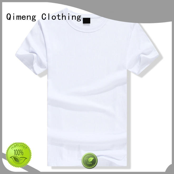 QiMeng modern custom printed tshirts owner for sports