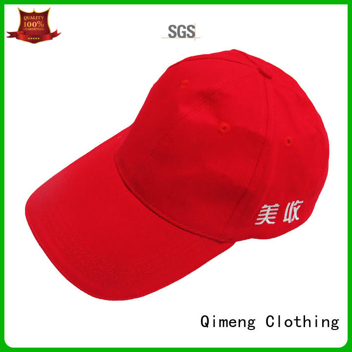 QiMeng cap custom made hats wholesale for campaigns