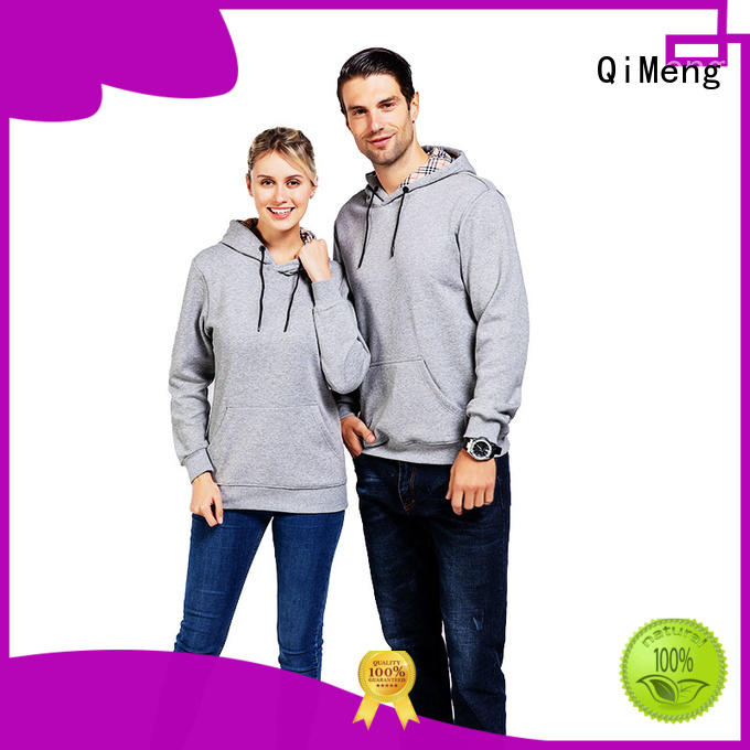 street style hoodies in China for daily wear QiMeng