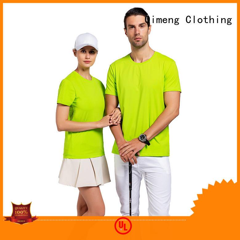 QiMeng high-quality custom printed t shirts wholesale