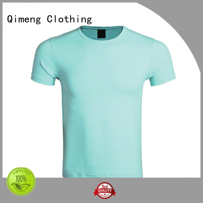 QiMeng outdoor branded t-shirts supplier for outdoor activities