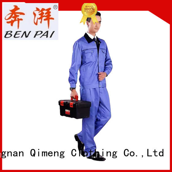 long work uniform design uniform for team-work QiMeng
