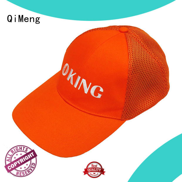 QiMeng trendy cap hat wholesale in work room