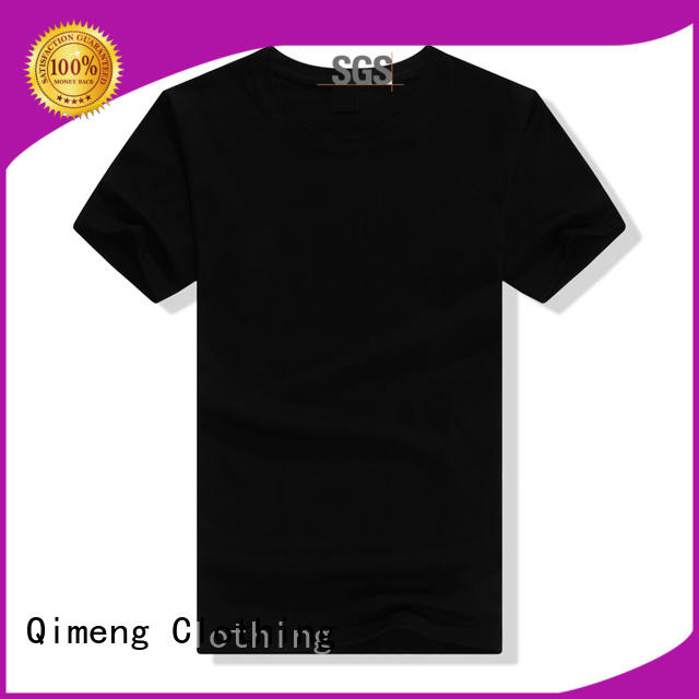 QiMeng on unisex t-shirts in China for team-work