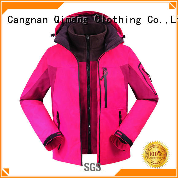 QiMeng OEM winter outdoor jacket factory for campaigns
