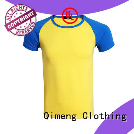 QiMeng new-coming coton t-shirts soft for daily wear