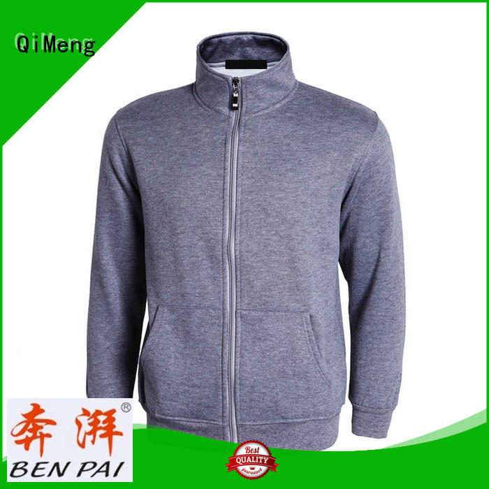 sports hoodies blank for promotional campaigns QiMeng