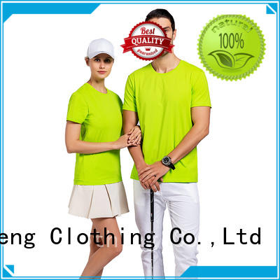 QiMeng printed lycra t shirt in different color in street