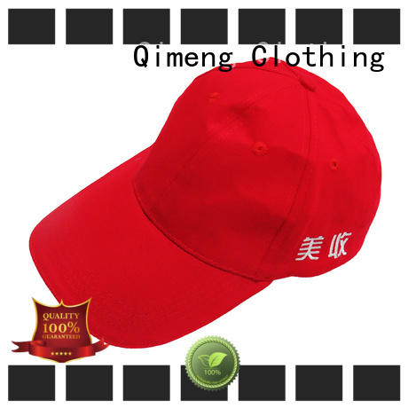 QiMeng sport flexfit cap directly sale in work room