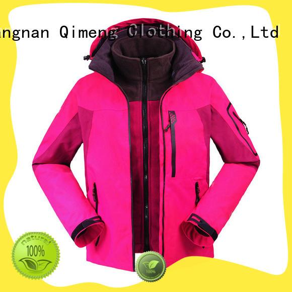 custom jacket jackets for daily wear QiMeng