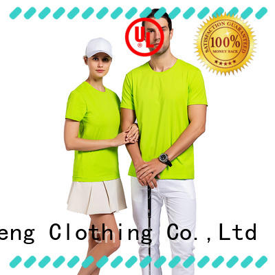 custom printed tshirts O-neck QiMeng