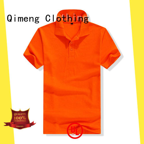 QiMeng clothing polo t-shirts wholesale directly sale for team-work