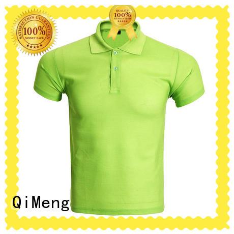 QiMeng mens men t shirts polo vendor for promotional campaigns