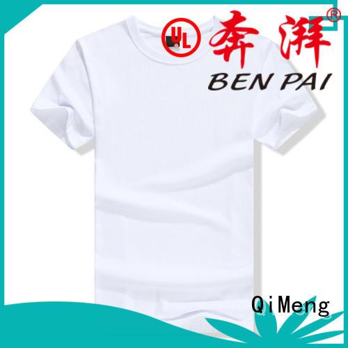 QiMeng customized custom tee shirts price for sporting