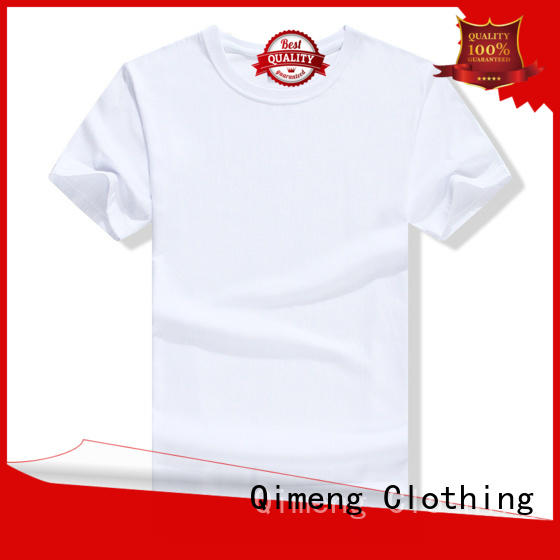 QiMeng latest t shirts for girls supplier in street