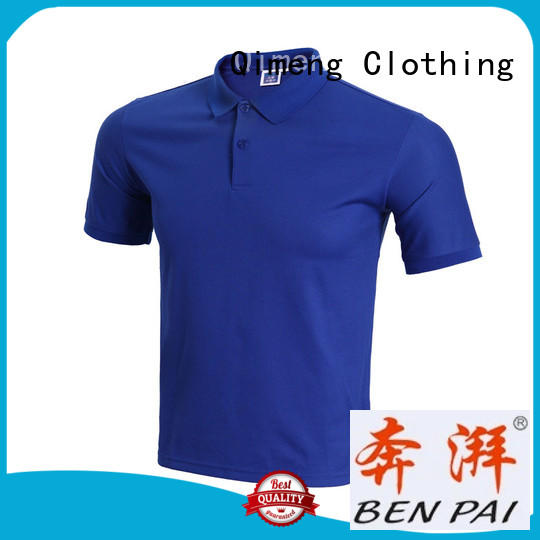 QiMeng shirt wholesale apparel  supply for sports