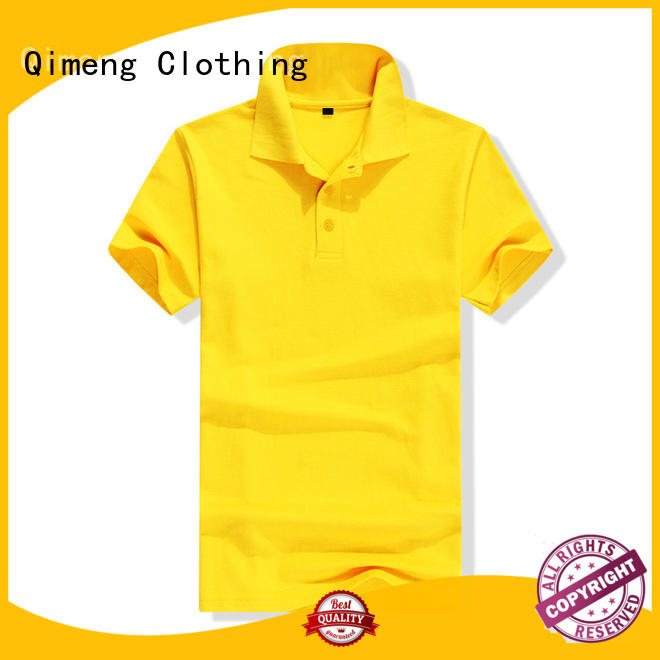blank polo shirts basic QiMeng
