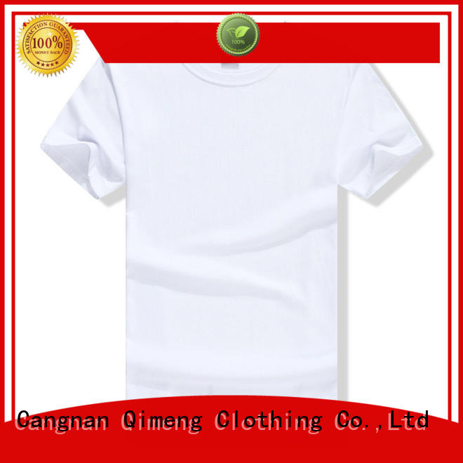 QiMeng customized sports t shirts experts for outdoor activities